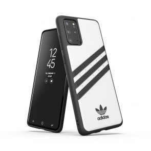 ADIDAS Originals Moulded case PU for SAMSUNG S20 PLUS white / black