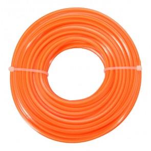 FLO μεσινέζα Extranyl 89462, 2.4mm x 15m, πορτοκαλί