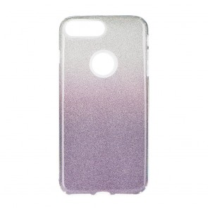 Forcell SHINING Case for IPHONE 7 Plus / 8 Plus clear/violet