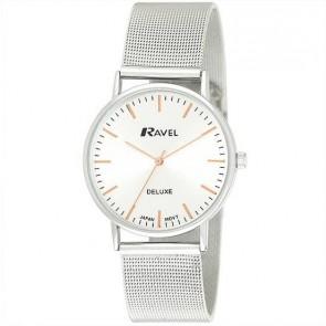 Ravel Deluxe timeless ρολόι με μεταλλικό λουράκι (38 mm) RD113G