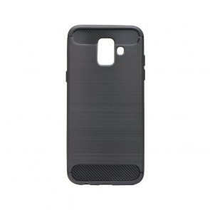Forcell CARBON Case for SAMSUNG Galaxy A6 ( A6 2018 ) black