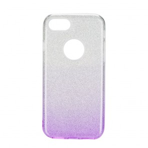 Forcell SHINING Case Iphone 7 / 8 clear/violet