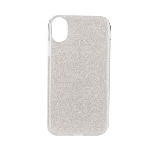 """Forcell SHINING Case for IPHONE XR ( 6,1"""" ) silver"""
