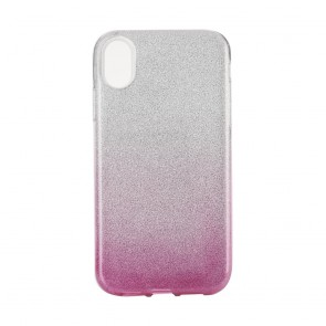 """Forcell SHINING Case for IPHONE XR ( 6,1"""" ) clear/pink"""