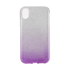 """Forcell SHINING Case Iphone XR ( 6,1"""" ) clear/violet"""