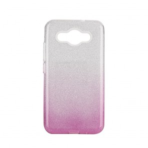 Forcell SHINING Case Huawei Y3 2018 clear/pink