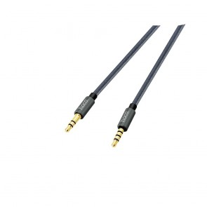 HOCO cable audio AUX Jack 3,5mm Noble sound series (with mic) UPA04 tarnish