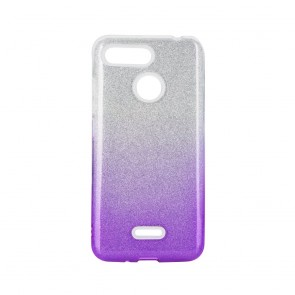 Forcell SHINING Case XIAOMI Redmi 6 clear/violet