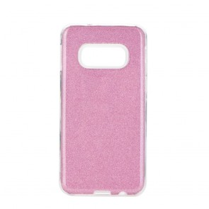 Forcell SHINING Case for SAMSUNG Galaxy S10e pink
