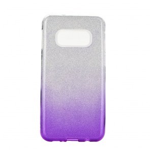 Forcell SHINING Case Samsung Galaxy S10e / S10 Lite clear/violet