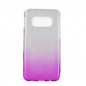 Forcell SHINING Case for SAMSUNG Galaxy S20 / S11e clear/pink