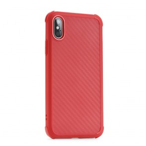 Roar Armor Carbon - for Iphone Xs Max red