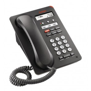 AVAYA used IP Phone 1603SW-I, POE, Dark Gray