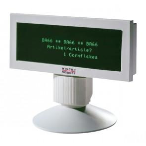 WINCOR NIXDORF POS customer display BA66-1, USB, γκρι
