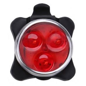 LED φωτισμός ποδηλάτου BIKE-0025, επαναφορτιζόμενος, 40LM