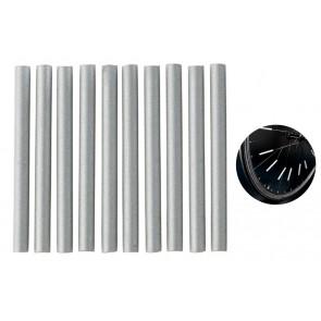 Ανακλαστικό για ακτίνες ποδηλάτου BIKE-0033, λευκό, 12τμχ