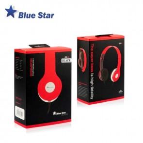 Ακουστικά Κεφαλής Blue Star  iM-6 (Μαύρο)