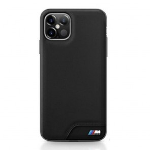 Original faceplate case BMW BMHCP12LMHOLBK for iPhone 12 Pro Max black