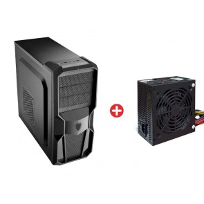 Bundle BNDL-0039 POWERTECH Gaming case CP-626-BL & PSU 600W PT-905