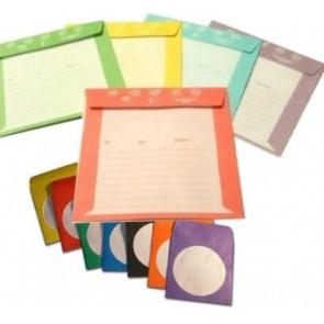 Χάρτινο φακελάκι για μεταφορά,  Σε  πέντε διαφορετικά χρώματα - 50τεμ