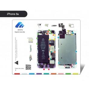 BEST Μαγνητικό υπόστρωμα διαχείρισης βιδών BST-111-IP5S, για iPhone 5S