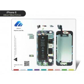 BEST Μαγνητικό υπόστρωμα διαχείρισης βιδών BST-111-IP6, για iPhone 6