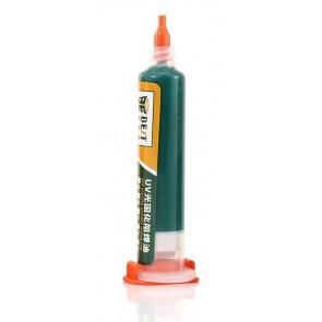 BEST PCB Repairing UV Solder mask ink BST-UVH900, 10cc, πράσινο