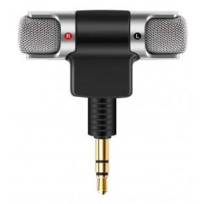 POWERTECH mini μικρόφωνο CAB-J041, stereo, 3.5mm