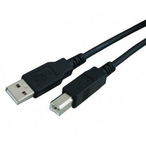 POWERTECH Καλώδιο USB 2.0 σε USB Type B, 1.5m, Black