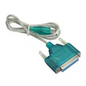 PT καλώδιο USB 2.0V σε RS232 25pin (F) - 1.5M