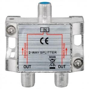 POWERTECH SAT-splitter CAB-V032, 2-way, 5-2400MHz, 100dB