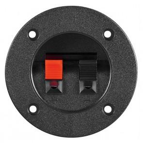 POWERTECH τερματικό ηχείου CAB-V037, Φ 75mm, μαύρο