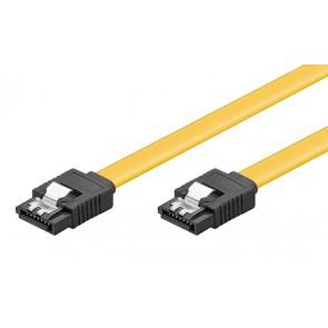 POWERTECH Καλώδιο CAB-W023 SATA III 7-pin σε 7-pin, Metal Clip, 0.2m