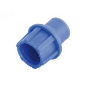 "TELECOM ""Cut and Push"" plastic coaxial connector, patented, Blue 5 ΤΕΜ."