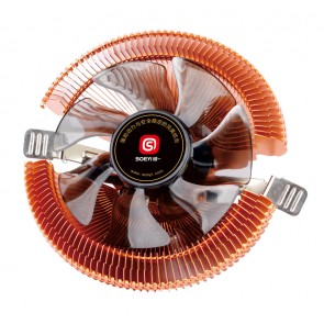 SOEYI Ψύκτρα για CPU CLA902, 1800RPM, 23.6dBA, 3-pin, 90mm fan, 65w