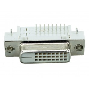 DVI Connector - DVI 25P, Nickel, White