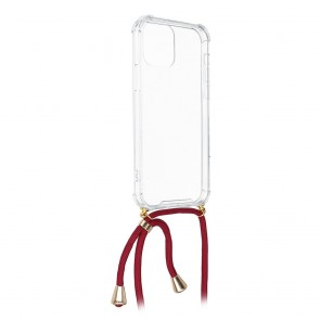 Forcell CORD case for SAMSUNG A51 red