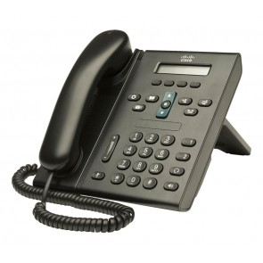 CISCO used Unified IP Phone CP-6921-C-K9, Black
