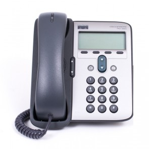CISCO used Unified IP Phone 7912G, γκρι/ασημί