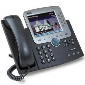 CISCO used IP Phone 7970G, Dark Gray