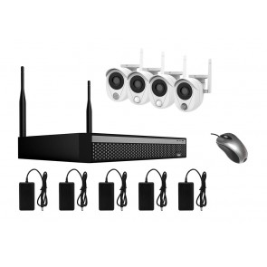 LONGSE WiFi Smart Kit CS200W, 2MP, 4 Cameras με 3 Sensors, TVI