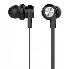 CELEBRAT earphones με μικρόφωνο D9, 10mm, 1.2m, μαύρα