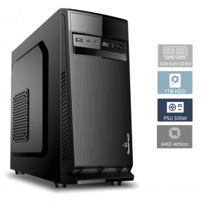 POWERTECH PC DMPC-0015 Athlon 3000G, DDR4 4GB, 1TB HDD, DVD-RW