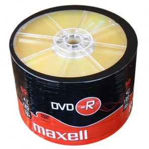 MAXELL DVD-R 16x 120min 4,7Gb 50 Spindle