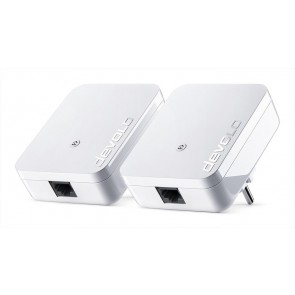 DEVOLO Powerline dLan 1000 mini 08153 Starter KIT, 2x adapters, 1000Mbps