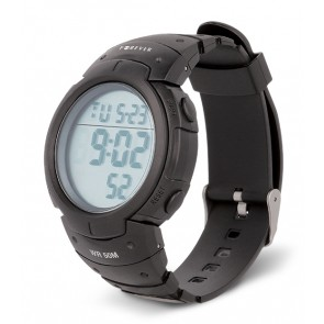 FOREVER Digital Watch DW-200, LCD, Alarm, Counter, Backlight, Black