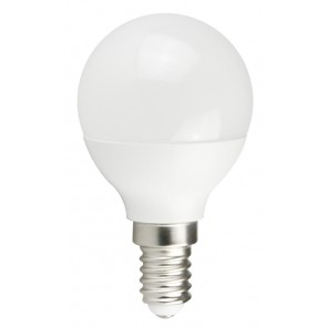 POWERTECH LED Λάμπα Mini Globe E14-006 5W, 6500K, E14, Samsung LED, IC