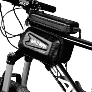 """Bicycle holder / front beam bag with touch screen with zipper WILDMAN ES6 1L 4 """"- 7"""""""