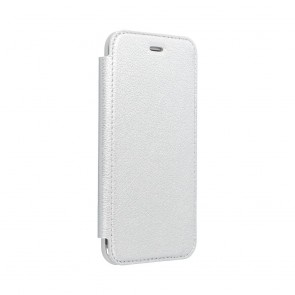 Forcell ELECTRO BOOK case for HUAWEI Y6P silver