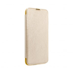 Forcell ELECTRO BOOK case for Huawei P40 LITE E gold